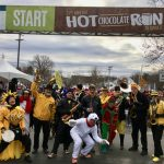 EBB at Hot Chocolate Run 2016